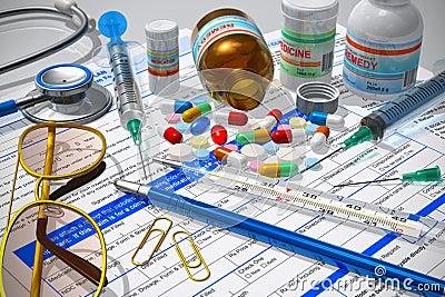 Concetto farmacia/medico