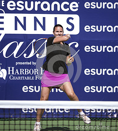 Conchita Martínez at Harbor Point  Tournament Editorial Image