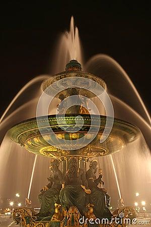 Concorde de fountain la paris place seas