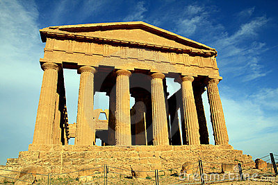 Concordia greek temple, Agrigento - Italy