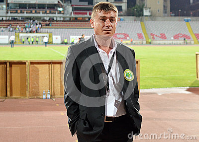 Concordia s press officer Florin Petrescu Editorial Stock Image