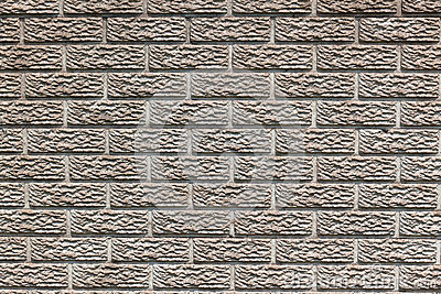 Concrete Brick Design Fence