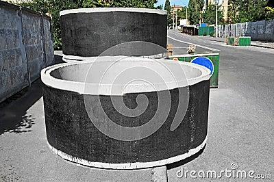 how to form half circle concrete steps