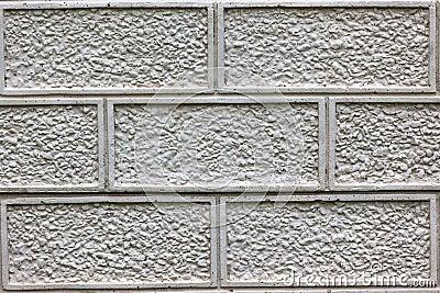 Concrete Design Slate Fence