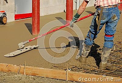 Concrete Float Horizontal