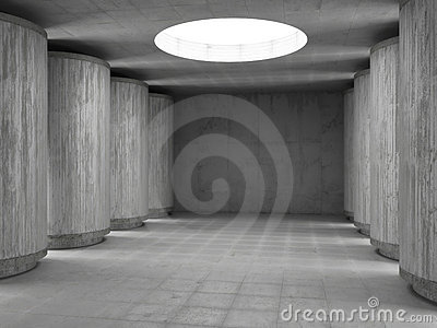 Concrete hall