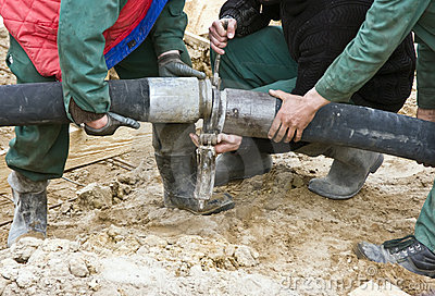 Concrete hose