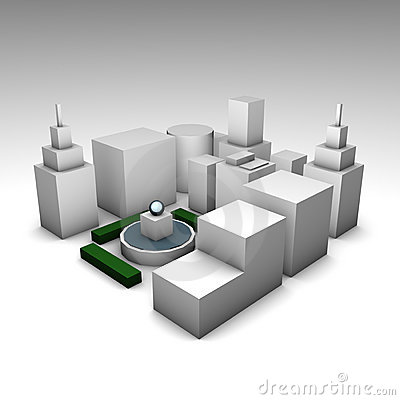 Free Concrete Jungle Royalty Free Stock Images - 9847079
