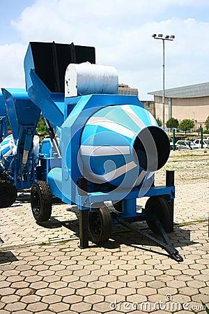 Concrete Mixer Yard Cart Trailer