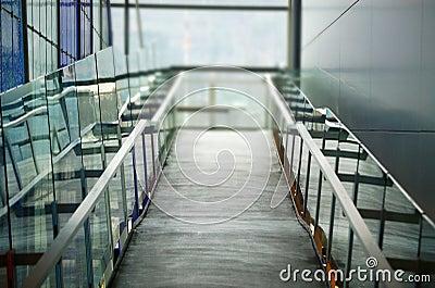 Concrete ramp and rails