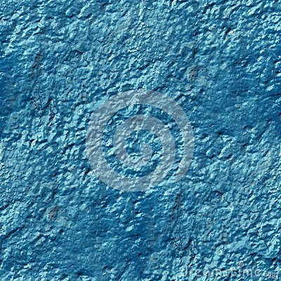 Free Concrete Wall Of Blue Paint Drips Rough Surface Stock Photo - 50435100