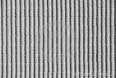 Concrete Wall With Stripes Royalty Free Stock Photos