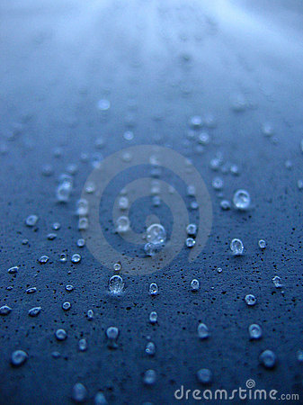 Free Concrete Water Drops Royalty Free Stock Image - 1049156