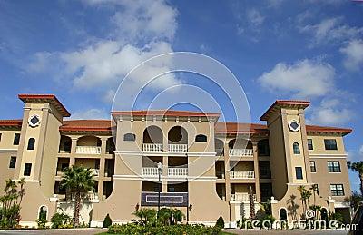 condo building in tropics