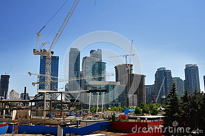 Condo construction Editorial Image
