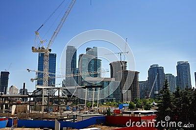 Condo construction Editorial Image