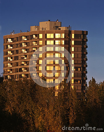 Condo in the sunset