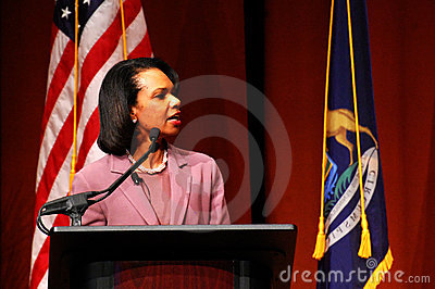 Condoleezza Rice at Michigan Editorial Photo
