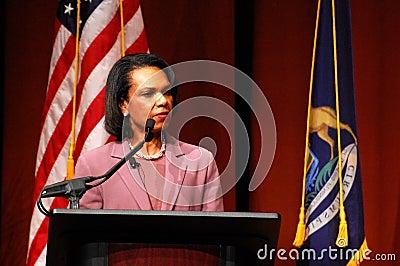 Condoleezza Rice at Michigan Editorial Photography