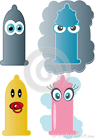 Condom. Vector Illustration