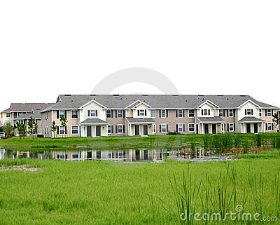 Condominium apartments near wetlands