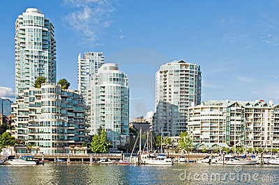 Condominiums at marina