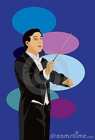 The Conductor Royalty Free Stock Image - Image: 14665606