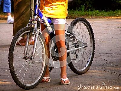 Conduite de bicyclette