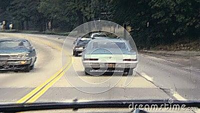 Conduza através de Bristol County video estoque