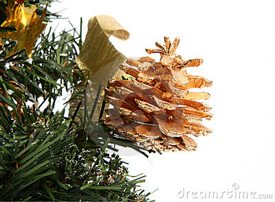 Cone decorativo do Natal