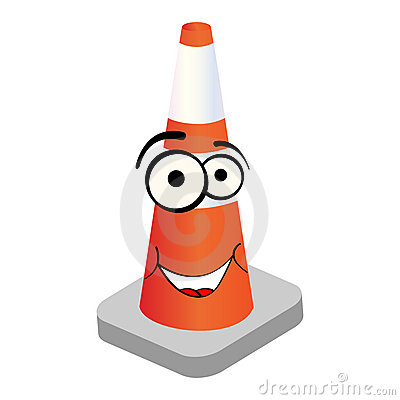 Cone do tráfego