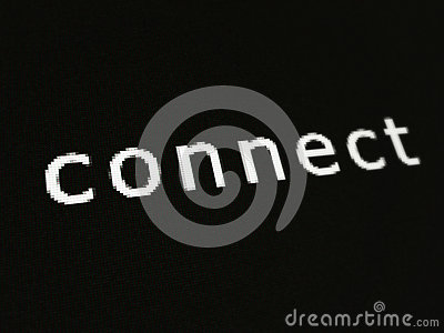 Conecte a tela do pixel