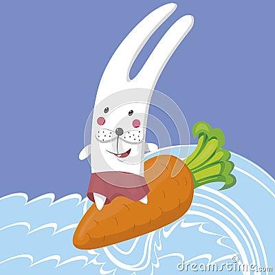 Conejo y el mar
