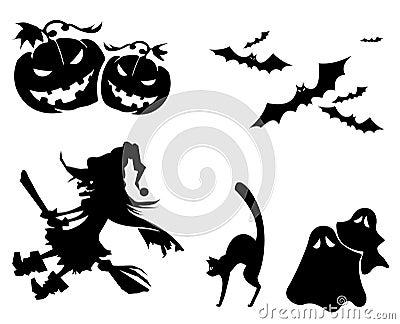 Ícones de Halloween