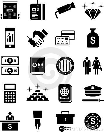 Ícones do banco