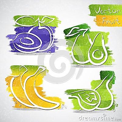 Ícones do fruto
