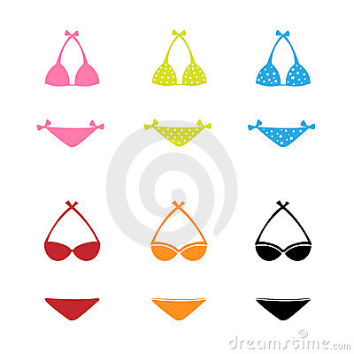 Ícones do Swimwear