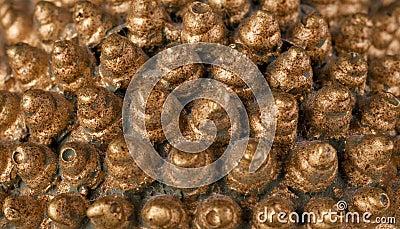 Cones dourados