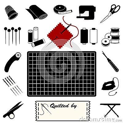ícones estofando de +EPS