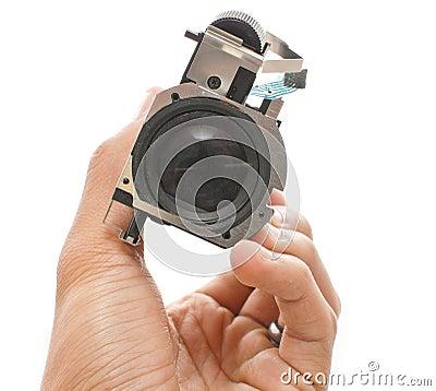 Conexión de la lente