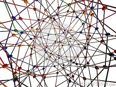 Conexión de la molécula