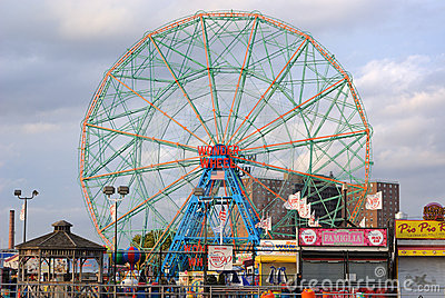 Coney Island Editorial Stock Photo