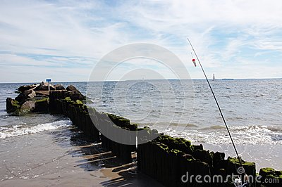 Coney island new york fishing season stock photo image for Nys fishing seasons