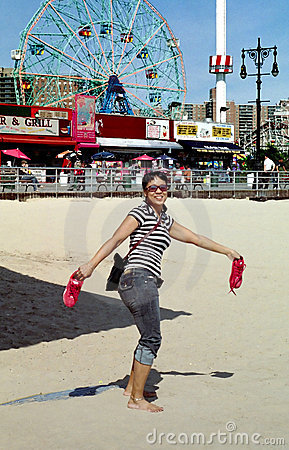 Coney Island New York Midway USA