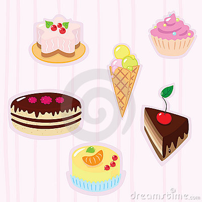 Confection background