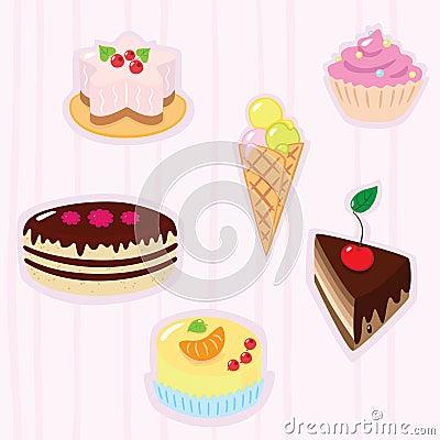Confection background