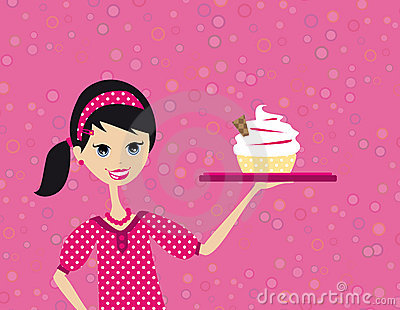 Confectioner woman