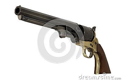 Confederate 1851 .44 Caliber Navy Pistol Left