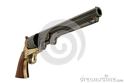 Confederate 1851 .44 Caliber Navy Pistol Right