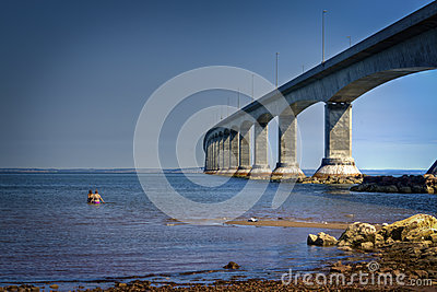 Confederation Bridge, PEI, Canada